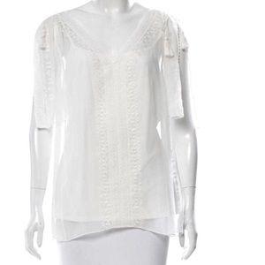 Tops - Elle Tahiti sleeveless blouse.
